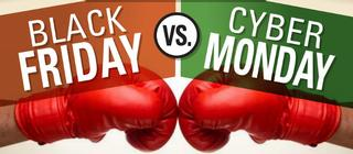/ Foto por: Black Friday vs. Cyber Monday Infographic by Exelate